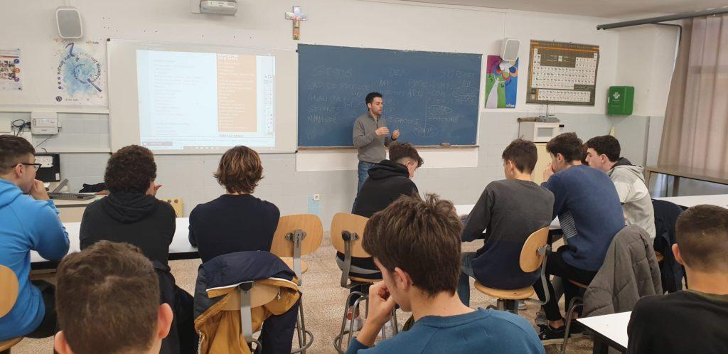 Participamos en las Jornadas de Orientación Profesional en La Salle Palma