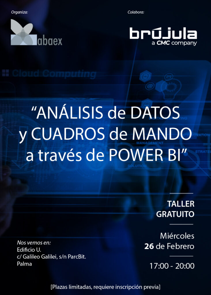 Taller Análisis de datos y cuadros de mando a través de Power BI