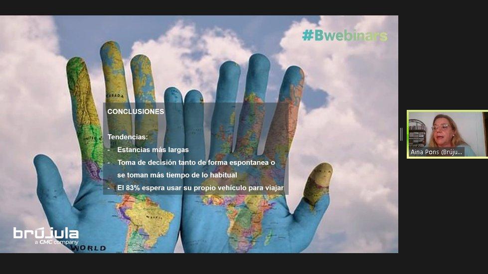 """#Bwebinars """"Nuevos paradigmas en la evolución de los destinos turísticos"""""""