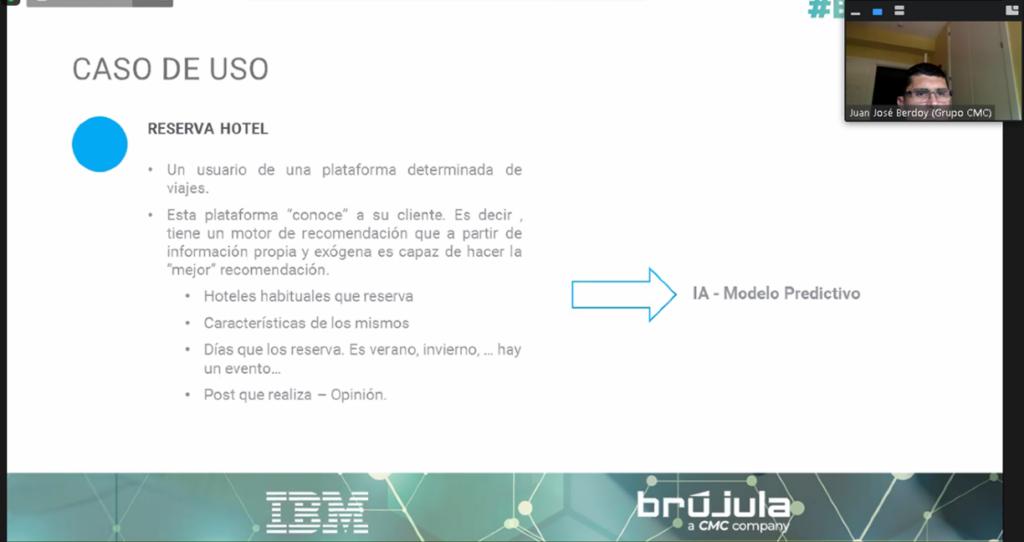 """#Bwebinars: """"Mejora de la experiencia del cliente en turismo con Inteligencia Artificial. IBM Watson"""""""